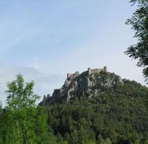Aude Lapradelle-Puilaurens Chateau