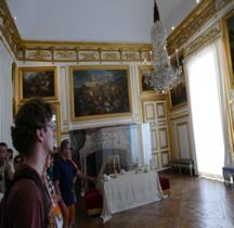 Yvelines Versailles Chateau Appartements du Roi  Antichambre Chambre du Grand Couvert du Roi