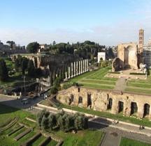 Rome Rione Campitelli Forum Romain Temple de Vénus et Rome
