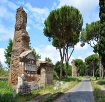 Rome Via Appia Sepolcro del Frontespizio