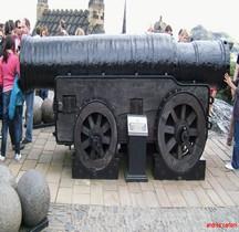 Artillerie 1450 Mons Meg Ecosse Edinbourg