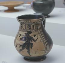 Etrurie Céramique Olpé Amazone Ferrare
