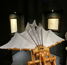 Leonardo da Vinci Aile  Florence Maquette