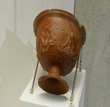 Rome Céramique Sigillée Coupe Motifs Erotiques Beziers