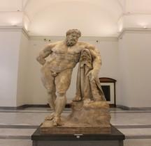 Statuaire Rome Hercule Farnèse Naples