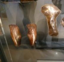 Samnium Militaria Protection Ocrea Cnémides Bronze Mougins MACM