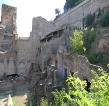 Rome Rione Campitello Palatin  Horrea Aggripina
