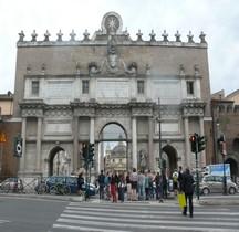 Rome Mura del URBS Rome Mura Aureliane Rione Campo Marzio Porta del Popolo