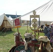 Signa Legio XXII Primigenia Cohors VI st Romain en Gal 2015