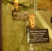 1.4.2 Paléolithique supérieur Gravettien Masque Dolni Vestonice Tchéquie