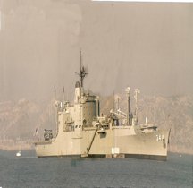 Ammunition ship  USNS Mount Baker AE-34