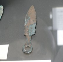 2.3 Age Bronze Final Bijou Pendeloque Menton