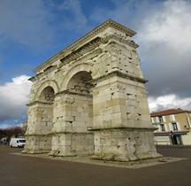 Charente maritime Saintes Arc de Germanicus Mediolanum Santonum