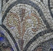 Mosaïque Rome Mosaïque Decor Floral Mougins MACM