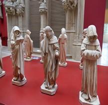 Cher Bourges Cathedrale St Etienne Tombeau Jean Duc du Berry Pleurants
