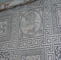 Mosaïque Rome France Nimes Mosaïque de Bellerophon