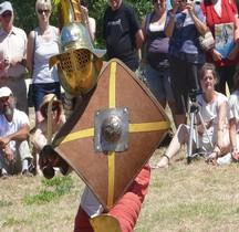 Gladiateur Thrace Bouclier Loupian 2010