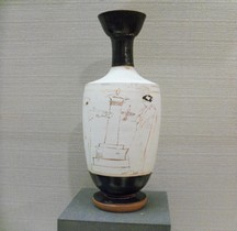 Grèce Céramique Lécythe Attique  Bruxelles