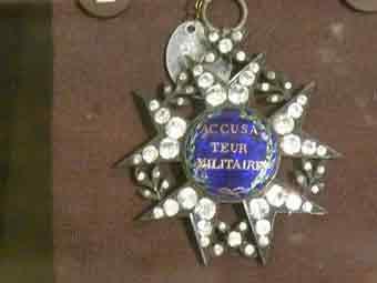 1793 Accusateur Militaire Insigne Paris