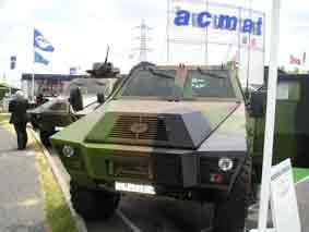 ACMAT TCM 420  BL 6  Eurosatory 2006