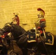Garde Imperiale Cavalerie Régiment de Carabiniers Brigadier Fourrier 1865 Salon
