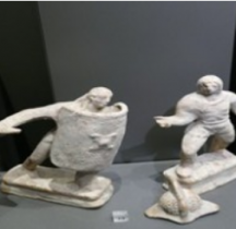 Statuaire Statuettes Mirmillon vs Rétiaire Mougins