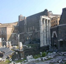 Rome Rione Campitelli Forums Impériaux 2 Forum Auguste Temple Mars Ultor