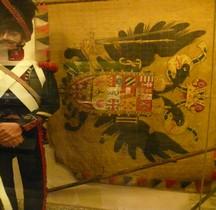 1800 Autriche Infanterie Drapeau Salon-Provence