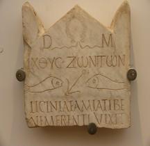 Rome Stèles Funéraires Rome Museii Capitolini