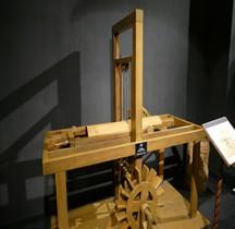 Leonardo da Vinci Scie Hydraulique Florence Maquette