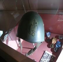 1940 Casque M 1933  MVSN Bastogne