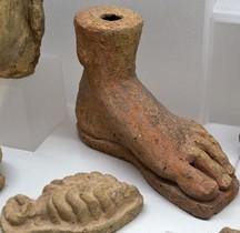 Etrurie Statuaire Terracotta  Ex Votos Rome MNE