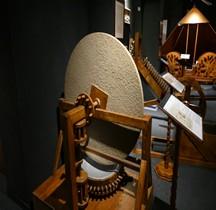 Leonardo da Vinci Machine à Polir Miroirs Florence Maquette