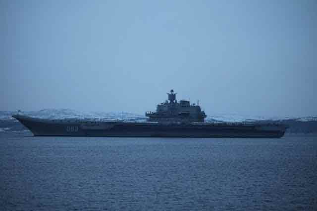 Porte Avions Admiral Kutnesov