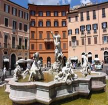 Rome Rione Parione Piazza Navona Fontana del Nettuno