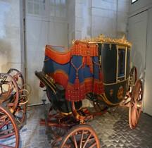 1890 Berline Présidence République Versailles Grandes Ecuries Musée des Carrosses