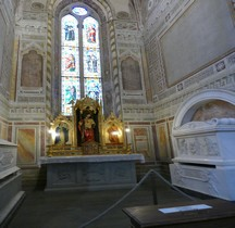 Florence Basilica di Santa Croce Intérieur Capella Sant' Andrea