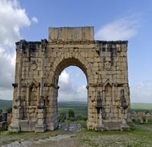 Maroc Volubilis Arc de Caracalla