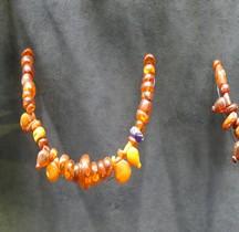 Etrurie Bijoux Colliers en Ambre Ferrare