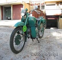 Moto Guzzi 500 Falcone Modello America Corpo Forestale delle Stato