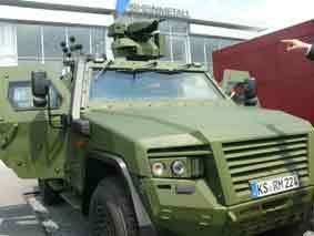 KMW AMPV Prototype Eurosatory 2010
