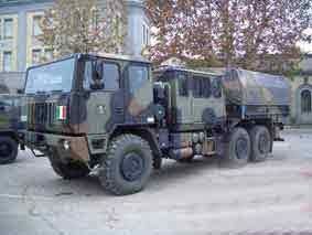 Astra  Autocarro Tattico Pesante SM 66.40 CAD  tra