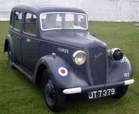 Austin Ten Cambridge 4-Door Saloon 1938  RAF Staff
