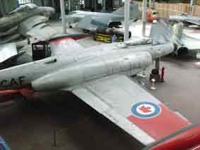 Avro CF-100 Mark 5 Canuck Bruxelles