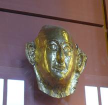 Egypte Masque Momie de  Khâemouaset France Louvre