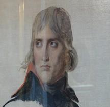 Peinture XIXe JL David Général Bonaparte 1797 Paris  Louvre