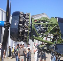 Moteur Pratt and Whitney R 2800-8 Double Wasp La Ferté