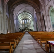 Hérault Montpellier  Cathéddrale St Pierre Intérieur