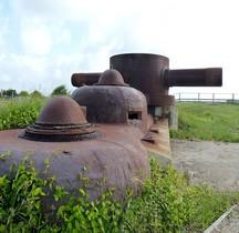 Stereoskopischer Entfernungsmesser  Telemetre Ploemeur  Fort du Talut