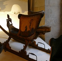1715 Traineau de neige  Patineurs Versailles Grandes Ecuries Musée des Carrosses